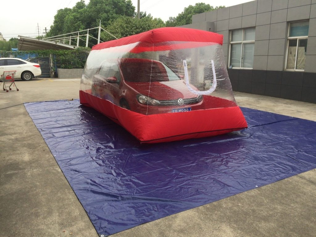 Red Carcapsule| Car cover